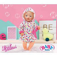 Одежда Халат с капюшоном для куклы Baby Born 43 см Zapf Creation 822463