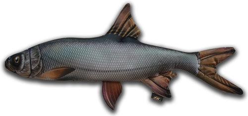 Антистрессовая игрушка 3K Fish Жерех гигантский 112х63см