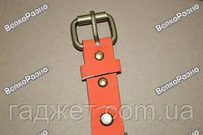 Женские часы с изображением Эйфелевой башни с оранжевым ремешком., фото 3