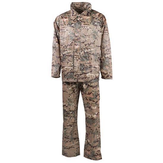 Дождевой костюм (S) мультикам, полиэстер MFH 08301X