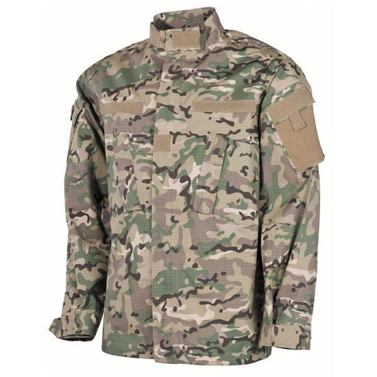 Куртка US Field ACU, Rip Stop, мультикам (XXXL) MFH 03383X
