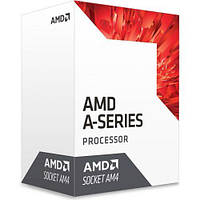 AMD (AM4) A6-9500E, Box, 2x3,0 GHz (Turbo Boost 3,4 GHz), Radeon R5 (800 MHz), L2 1Mb, Bristol Ridge