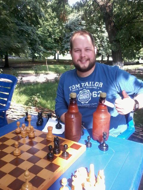 Любительский шахматный турнир в Магазине живого пива на Лукьяновке