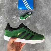 Кроссовки в стиле Adidas Gazelle 'Green Suede' мужские