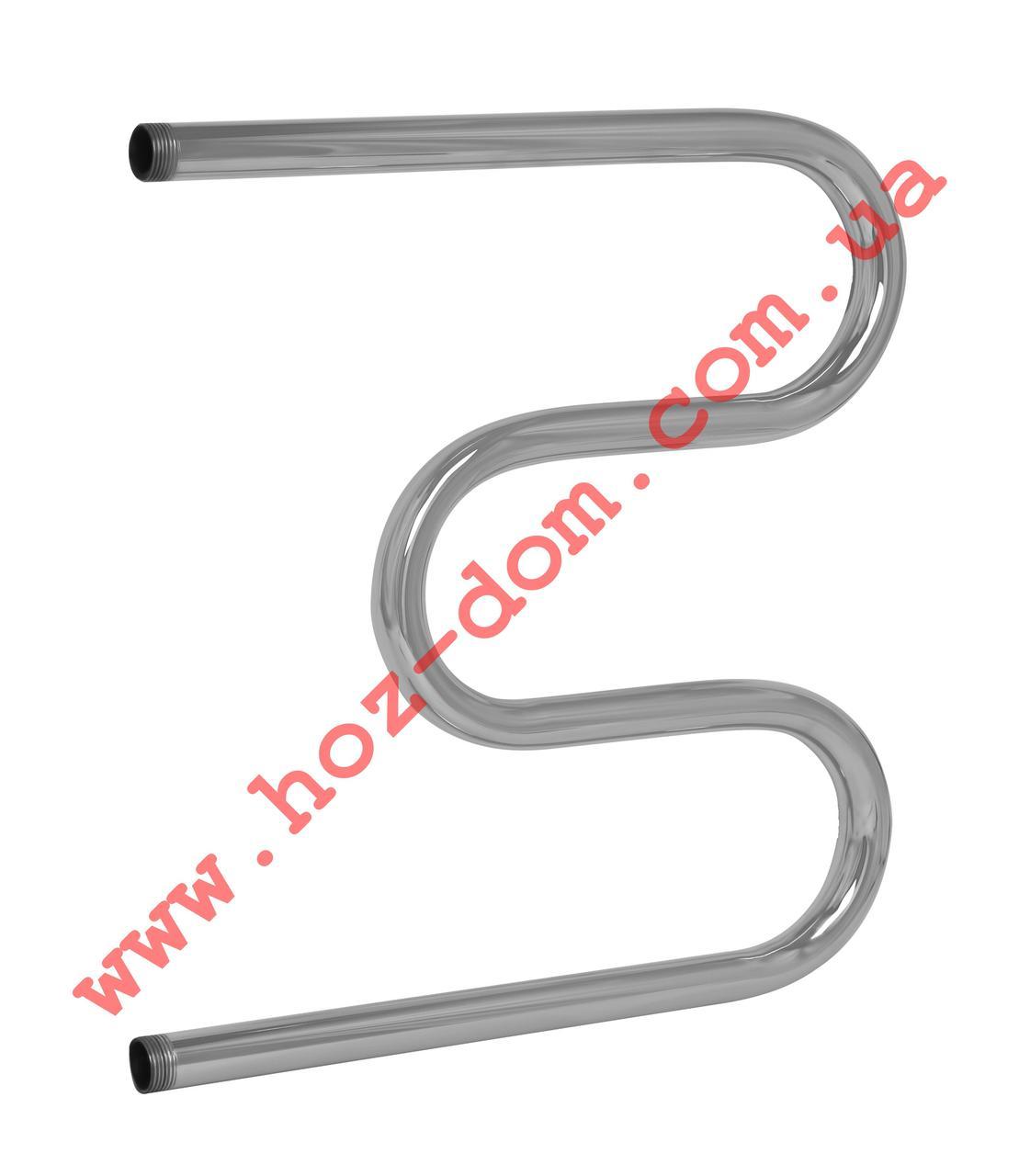 Змеевик Аквакомфорт 500*500-3 колена  3мм нерж.