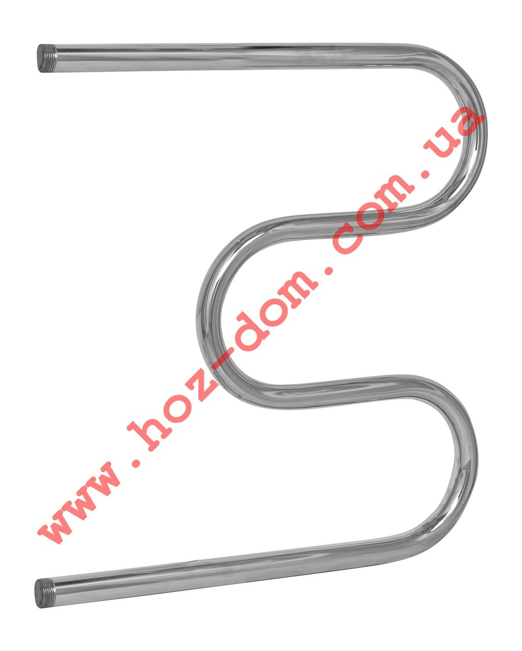 Змеевик Аквакомфорт 600*600- 3 колена 3мм нерж.