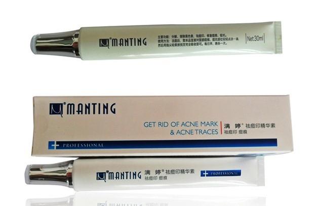 Крем корректор для лица при шрамов клеща демодекс Мантинг