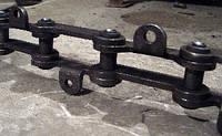 Цепь 095М-5030-020Е; шаг 130мм, для вагона Ж/Д  СМ-2