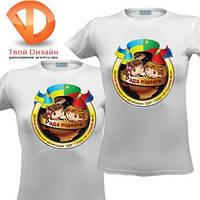 Рисунки на футболках, перенос изображения на футболки в Киеве