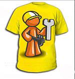 Рисунки на футболках, перенос изображения на футболки в Киеве, фото 3