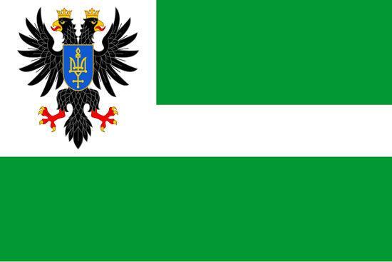 Флаг Черниговской области 90х150см