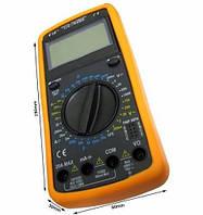 Мультиметр (тестер) DT9205A + щупы+крона