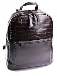 Женский кожаный рюкзак 626G Black. Рюкзак из натуральной кожи купить недорого
