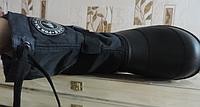 Сапоги мужские сноубутсы с утеплителем. Съемный валенок.