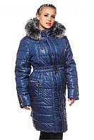 Стёганое женское зимнее пальто р.52-64