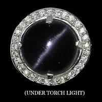 """Круглое кольцо с   лунным камнем """"Луна"""" , размер 17,2  от студии LadyStyle.Biz, фото 1"""