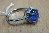 """Хорошенькое кольцо  с танзанитом  """"Кабошон"""" , размер 19  от студии LadyStyle.Biz, фото 1"""