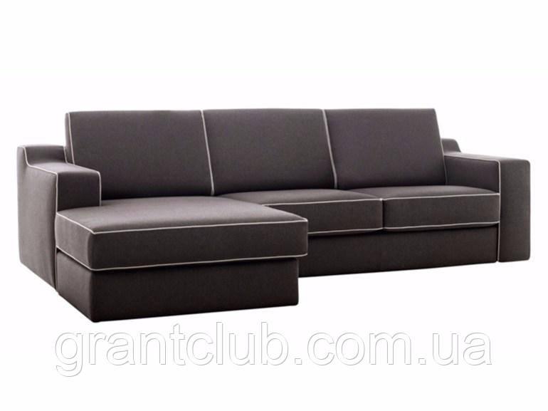 Итальянский модульный диван с контрастным кантом JONAS фабрика Felis