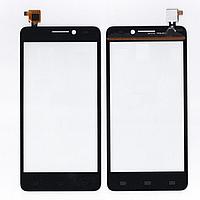 Оригинальный тачскрин / сенсор (сенсорное стекло) для Gigabyte GSmart Mika M2 (черный цвет)