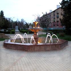Фонтан, Парк им.Горького,  г. Мукачево, 2008