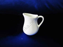Молочник керамический белый  Надежда 68 мл.  5,5 х 7 см.