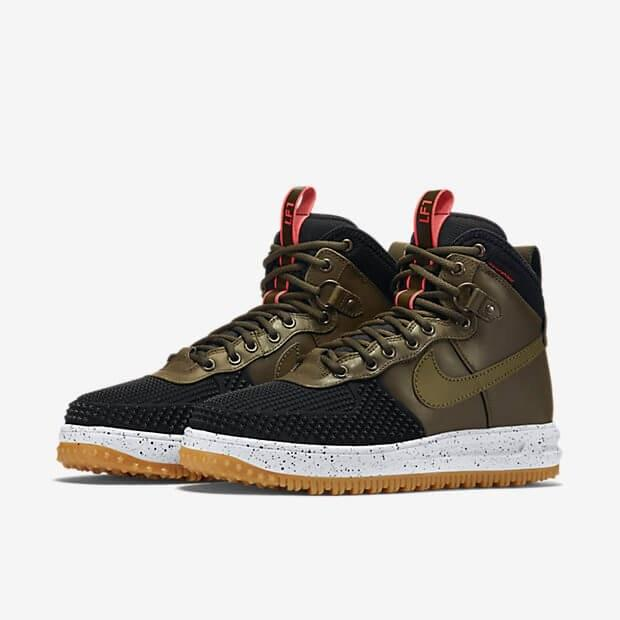low priced 4d981 ae11e ... low price nike lunar force 1 duckboot army green black ada41 0d794 ...