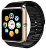 Часы Smart Watch GT08 Black gold Gsm/Bluetooth/камера