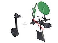 Картофелесажалка (EXPERT) для мотоблока оборотная (усиленная) с опорным колесом