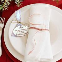 Шоколадные комплименты-подарки гостям на свадьбу