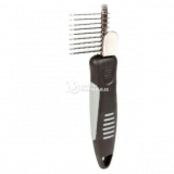 Колтунорез Trixie De-matting Comb прямой короткий зуб