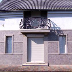 Фасад офисного здания,, ул. Ярослава Мудрого,   г. Мукачево, 2008