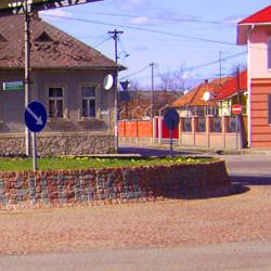 Дорожная развязка ул. Мира г. Мукачево 2007