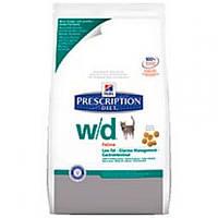 Hills PD Feline W/D, корм для кошек (ожирение, колиты, запоры, сахарный диабет, струвити)