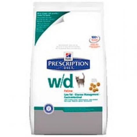 Hills PD Feline W/D, корм для кошек (ожирение, колиты, запоры, сахарный диабет, струвити), фото 2