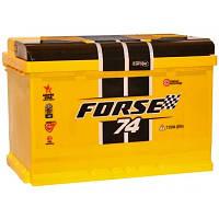 Аккумулятор Forse 74Ah (0) 720A 6СТ74