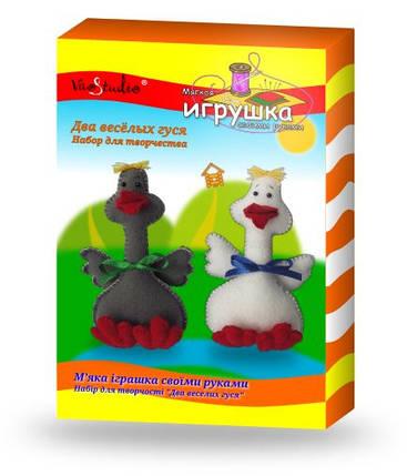"""Набор для изготовления мягкой игрушки """"Два веселых гуся"""", фото 2"""