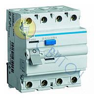 CD463J Пристрій захисного відключення 4x63 A, 30 mA, A, 4м, HAGER