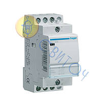 ESC325 Контактор 25A, 3НВ, 230В, 2м, HAGER