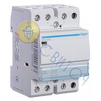 ESC340 Контактор 40A, 3НВ, 230В, 3м, HAGER