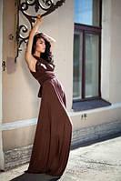 """Вечернее Платье трансформер """"Манго"""" (Шоколад), фото 1"""