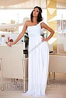 Вечернее белое платье трансформер