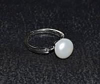 Недорогое кольцо с жемчугом
