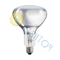 Лампа PHILIPS R125 IR 375W E27 230-250V CL 1CT/10 инфракрасная