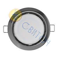 Светильник Navigator 71281 NGX-R1-005-GX53(Черный хром)круг.светильник под лампу GX53, без лампы