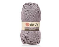 Турецкая пряжа для вязания  YarnArt Macrame (макраме)- 149 серый