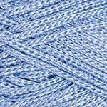 Турецкая пряжа для вязания  YarnArt Macrame (макраме)- 133 голубой