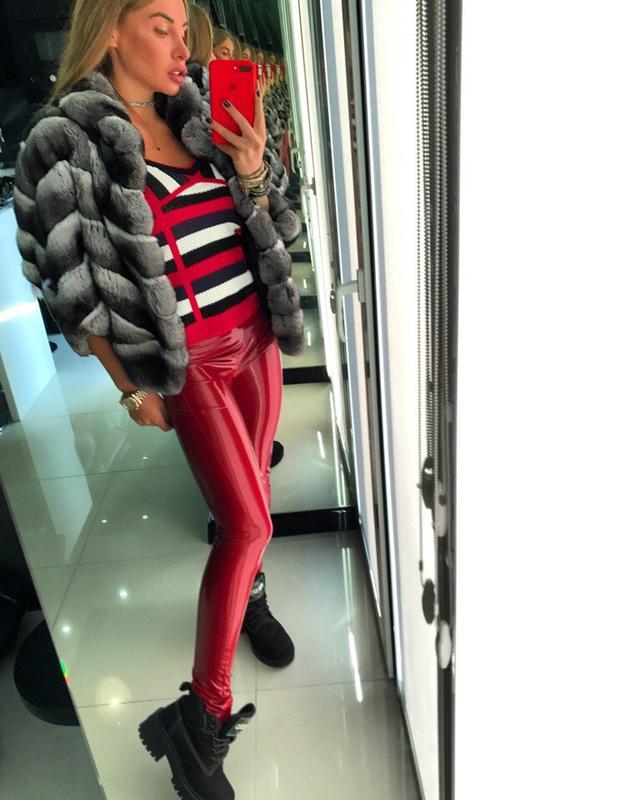 9e0abb0367e8 Лосины Doratti виниловые блестящие модные стильные разные цвета Ldor54