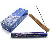 Аромапалочки Darshan Lavender (Лаванда) (Darshan) (6/уп) шестигранник
