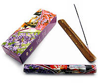 Аромапалочки Darshan Lavender Rose Musk (Лаванда роза мускус) (Darshan) (6/уп) шестигранник