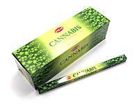 Аромапалочки Cannabis (Марихуана) (Hem) (8 палочек/уп) квадрат